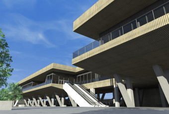Proyecto Fin de Carrera: Estación intermodal de transportes