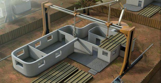 Impresion de casas en 3D